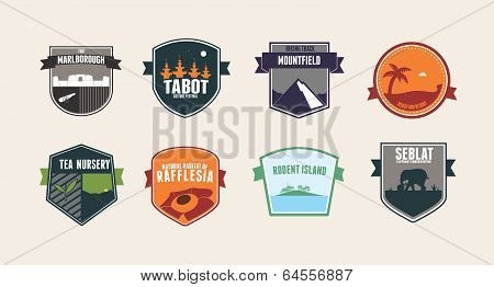 Vacation Badges