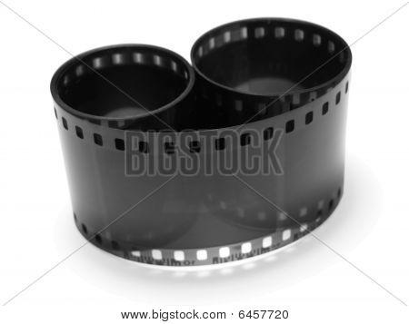 black empty film