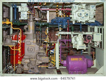 Locomotive Air Brake Components