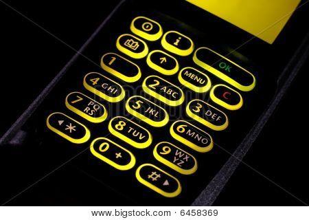 Cellular Keypad