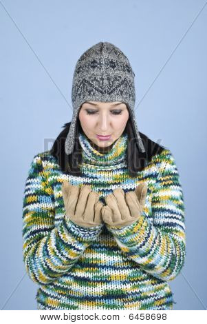 Disappointed  Winter Girl