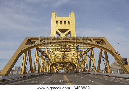 Tower Bridge at Sacramento