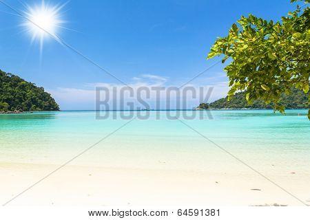 Beach And Tropical Sea (surin Island,thailand)