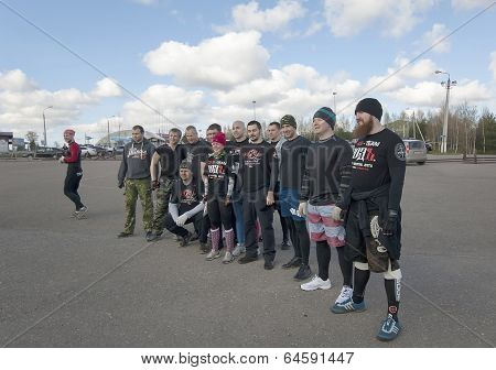 Sportsmen of ROD team
