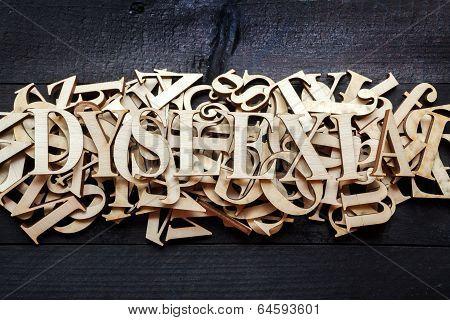Dyslexia Concept