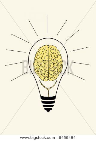Symbol der Brain storm