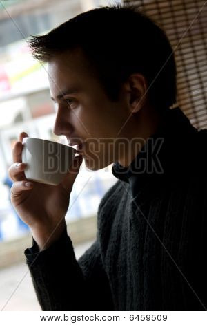 Boy With A Coffee Cup