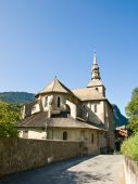 Old Medieval Church In The Mountain Village poster