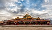 stock photo of tibetan  - Lharong Monastery in Sertar Tibet - JPG