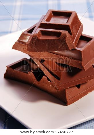 Blocks Of Chocolate