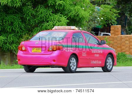 City taxi meter Bangkok