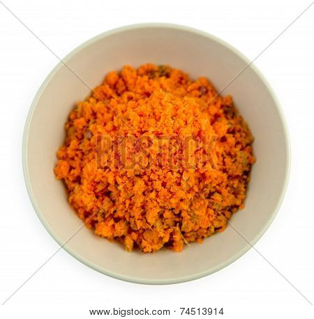 Carrot And Apple Juicing Pulp