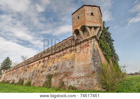 Italian Medieval City Wall