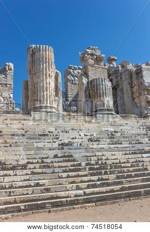 Ruins Temple Of Apollo