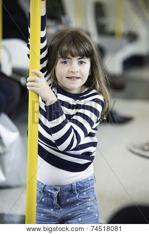 Little Girl In The Subway