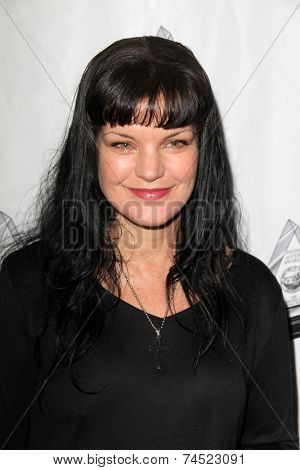 LOS ANGELES - OCT 16:  Pauley Perrette at the 2014 Media Access Awards at Paley Center For Media on October 16, 2014 in Beverly Hills, CA