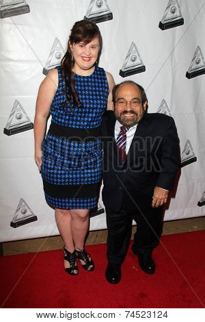LOS ANGELES - OCT 16:  Jamie Brewer, Danny Woodburn at the 2014 Media Access Awards at Paley Center For Media on October 16, 2014 in Beverly Hills, CA