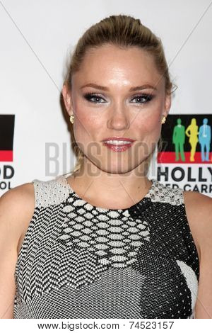 LOS ANGELES - SEP 20:  Clare Grant at the Hollywood Red Carpet School at Secret Rose Theater on September 20, 2014 in Los Angeles, CA