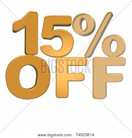 Inscription 15 Percent Off