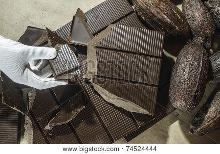 Chocolate Bar Crushed