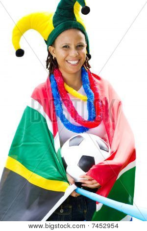south african soccer fan