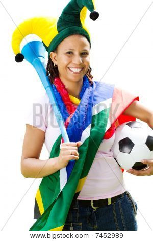 pretty soccer fangirl