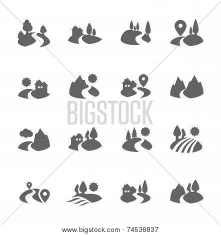 Land Icons