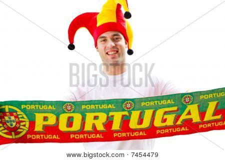 Portugiesischer Fußball-fan