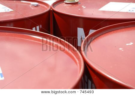 New oil drums
