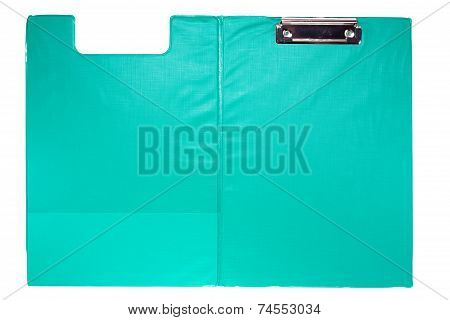 Green Clip Board