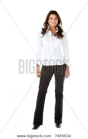 Fullbody Business Woman