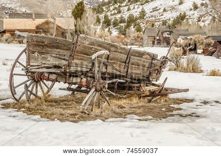 Dilapidated Wagon