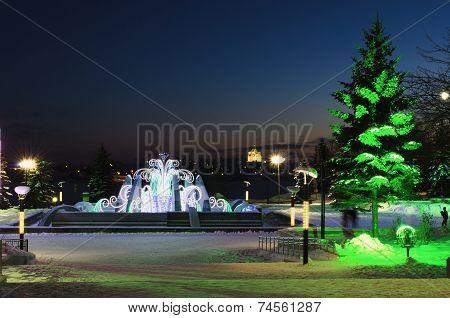 Evening In Winter Park