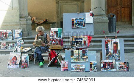 Street Artist Florence