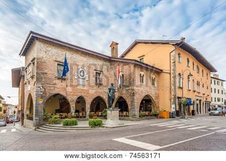 City Hall In Cividale Del Friuli