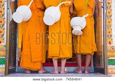 New Monk, Monks Ordination Ceremony