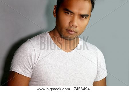 portrait of a handsome Filipino