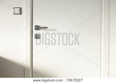 White Wooden Door 2