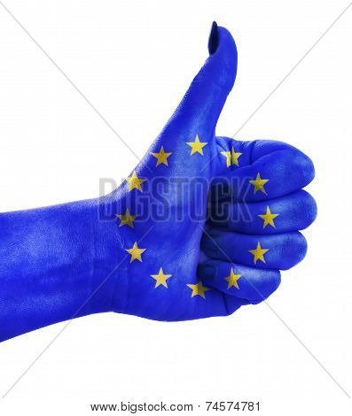Thumb Up For European Union