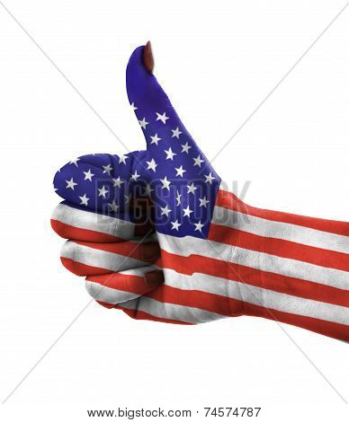 Thumb Up For Usa