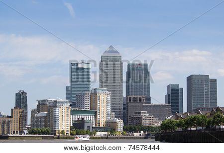 London financial district