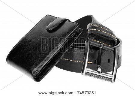 Mens Wallet And  Belt