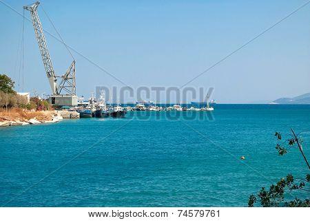 Marine pier.