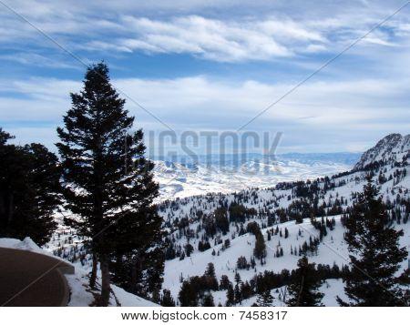 Wintery Utah