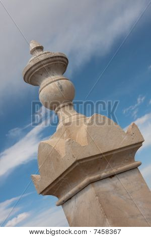 Stone Monument Finial