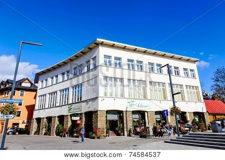 Urban Building In Zakopane
