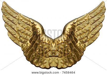 Emblem Of Golden Wings