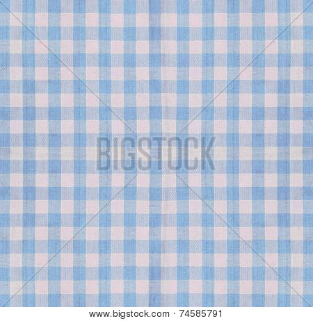 Checkered Fabric Closeup