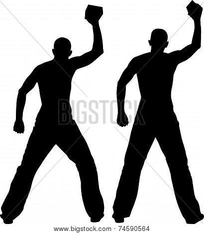 Man Throwing