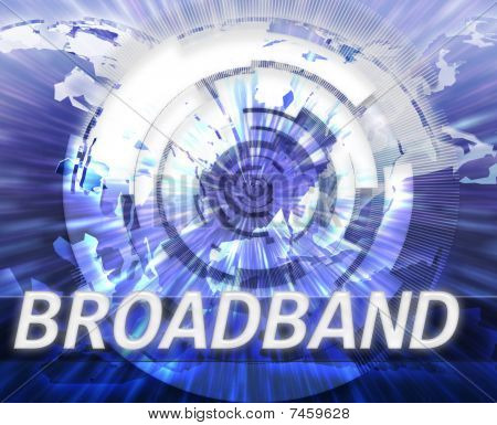 Internet Broadband Data Technology